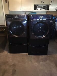 Kenmore Elite Front Loading Washer & Dryer with pedestals