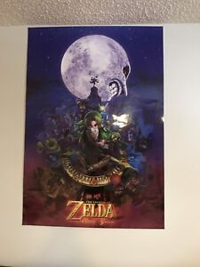 nintendo 3ds zelda majoras mask/symphony of the goddess poster