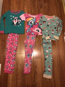Lot de 4 pyjamas fille 8 ans