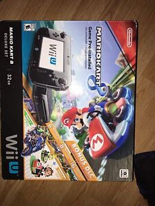 Nintendo Wii U console and 10 games