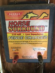 Electric Fence Charger, posts and wire