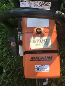 Stihl 440 magnum and ms261c chainsaw