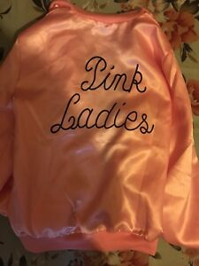 Grease Pink Ladies cosplay jacket