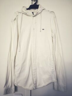 M sized White casual / sport hoodie