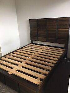 Empress Queen size bed with deluxe mattress Waterloo Inner Sydney Preview