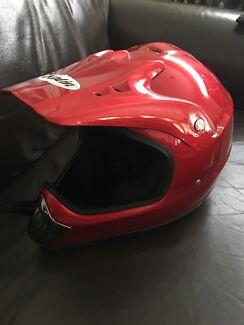 Kylie motorbike helmet
