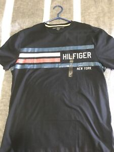TOMMY HILFIGER TEE! BRAND NEW! TAGS! LARGE! CHEAP!