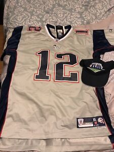 NFL Super Bowl Jersey Brady XL
