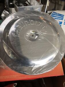 Chevrolet 14 inch air cleaner chrome