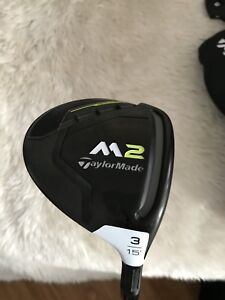 Taylormade M2 15 degree 3 wood