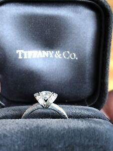 Tiffany & Co Diamond Solitaire Ring