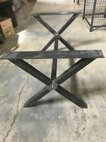 Heavy duty steel table legs and base for sale
