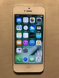 iPhone 5, white, 16 GB, Rogers/Chatr