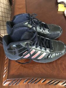 Adidas Girls Basketball Shoes Size 4 1/2 New