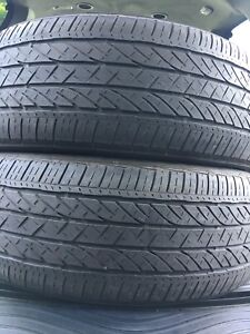 2-235/55R20 Bridgestone all season