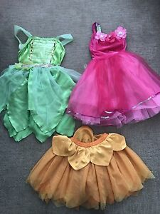 Dress up clothes, size 2-4