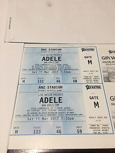 Premium Adele ticket concert Deakin South Canberra Preview