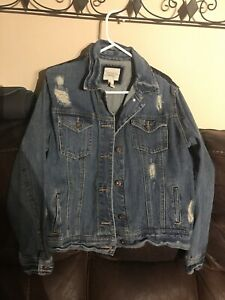 New Ladies Forever 21 Jean Jacket Size M