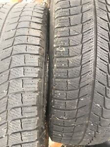 P215-60R17 Michelin Xice3 Snow Tires