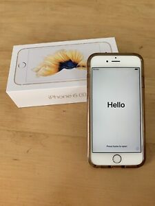 EUC Gold iPhone 6S 128 GB