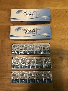 1-Day Acuvue Moist contact lenses -3.00 prescription