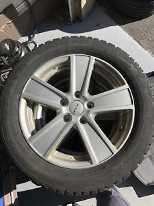 205 55 R 16 VW Golf Audi Winter Tires on RIM