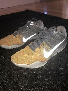 4ad459f9cb8f Nike Kobe 11 Elite Cool Grey  47 Voltage Green (Size US 13)