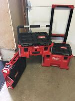 BRAND NEW- Milwaukee PACKOUT mobile toolbox kit
