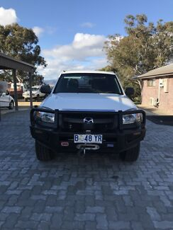 2007 Mazda BT-50 FreeStyle Cab Flat Tray Turbo Diesel