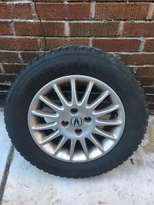 Acura winter tires SZ 195/60R15 and summer tires