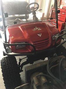 AGT rambler golf cart