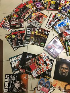 Basketball magazines and books