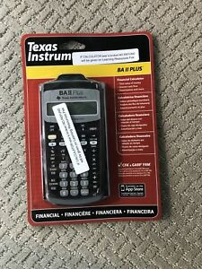 Finance Calculator - BA 2 Plus Texas Instruments