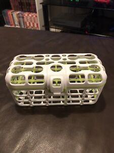 Dishwasher safe bottle washer.