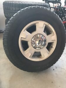 Winter tires on ford rims  265 70 17