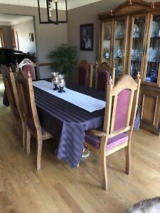 Oak dining set Cheap! BARGIN!