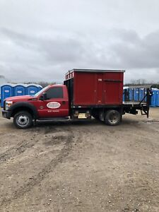 2011 Ford F450 xl Portable  toilet service truck