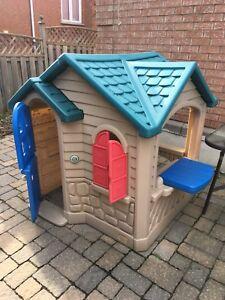 Children outdoor playroom