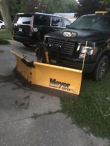 "MEYER 7'6"" SUPER-V LD SNOWPLOW"