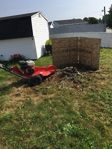 Stump grinding and property maintenance