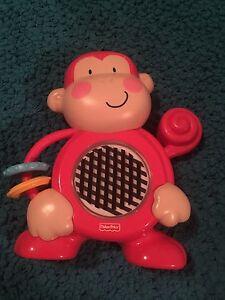 Petit singe jouet récréatif pour bébés