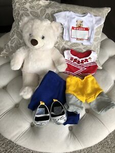 Build A Bear plus 2 outfits and shoes