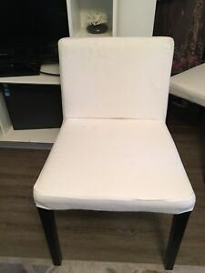 Set of 4 Ikea chairs