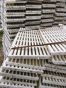 12x30 Plastic slats