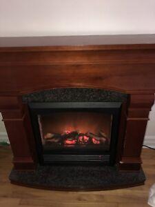 Decor Flame Fireplace / Foyer électrique