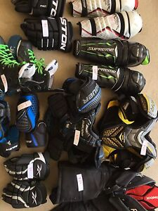 Hockey equipment individually priced or 175 together