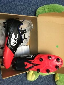 Canterbury hybrid rugby cleats, men's 10