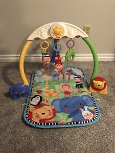 Fisher price lights and sounds play mat