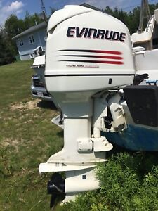 2002 Evinrude 225 223 hours