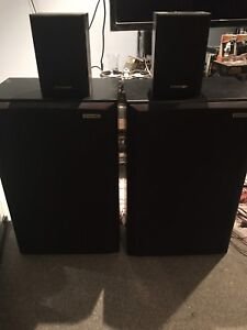 Pioneer speakers and dbox david 300 subwoofer sony